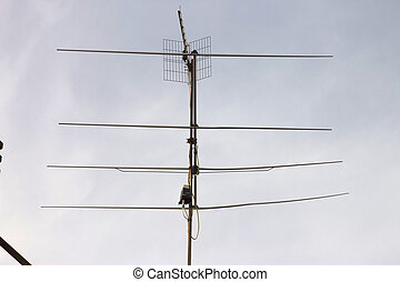 antenna, tv, uhf, vhf, radio
