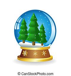 Ball with fir