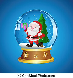 Ball with Santa