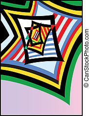Windows - Abstract vector illustration. High resolution...