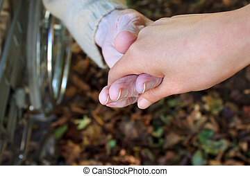 Helping Hand in Autumn