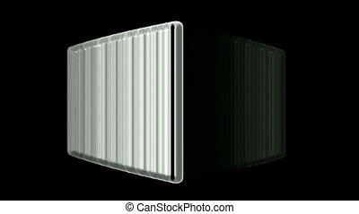 computer firewall,3d moving cubes - computer firewall,3d...