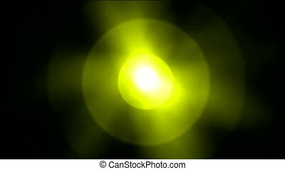 dazzling golden rays light,sun and halo,underwater clip of...