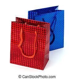 袋, グロッシー, 贈り物, お祝い