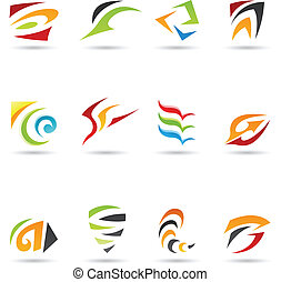 Abstract Shapes 4 - Eps Vector illustration of geometrical...