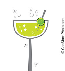 Margarita - Cute alcohol margarita lime lemon drink