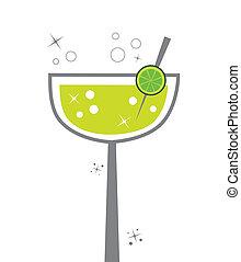 Margarita - Cute alcohol margarita lime lemon drink