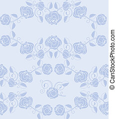 Roses pattern seamless