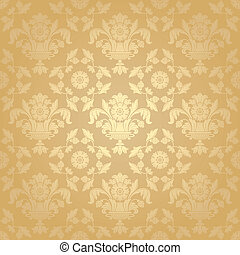 Seamless pattern, floral background