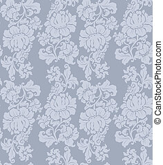 Seamless pattern, ornament floral