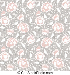 Seamless-wallpaper pattern with of
