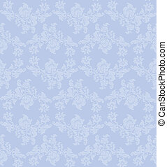 Vector Seamless ornament floral