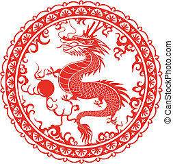 Dragon Symbol of the 2012 - Dragon for the year 2012...