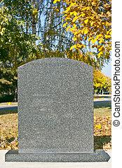 墳墓, 石頭
