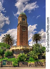Catani Clock Tower in St Kilda, Melbourne, Australia