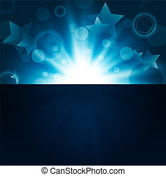 holiday night background - abstract bright night background...