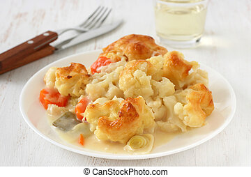 cauliflower with sauce