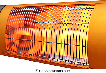 Infrared heater - Heating element of a infra-red heating...