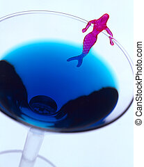 Mermaid Cocktail - Martini