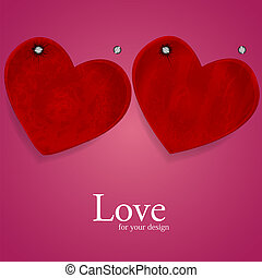 Vector heart for your design. Best choice