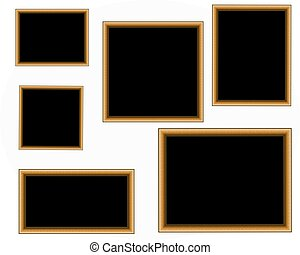 Assorted photoframes - Photoframes set
