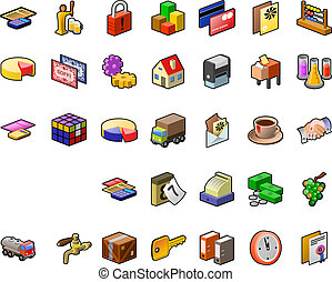 Food Industry Icon Set