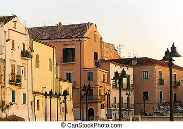 Rodi Garganico Foggia, Puglia, Italy - Old Buildings - Rodi...