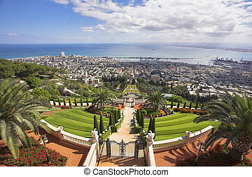 Haifa and Mediterranean sea - Landscape - Haifa and...
