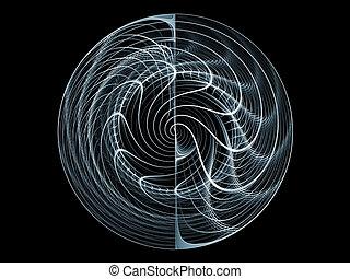 Dynamic Grid Background - Elegant dynamic grid lines...