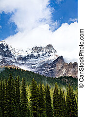 Rocky mountain Banff National Park Alberta Canada, Oct 2011,...