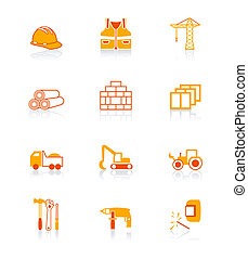 Construction icons | JUICY series - Construction tools,...