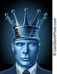 Liderança, coroação, CEO