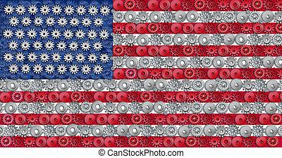norteamericano, economía