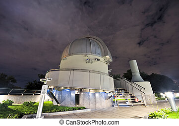 a small astronomical observatory of the Moscow Planetarium