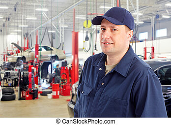 Auto mechanic. - Professional auto mechanic in auto repair...