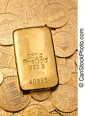 investment in real gold than gold bullion