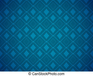 Vector Poker Blue Background