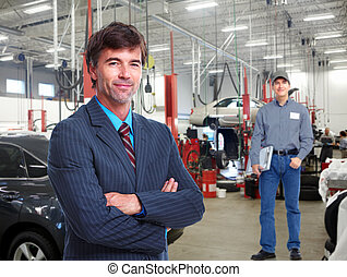 Auto mechanic. - Professional auto mechanic and manager in...