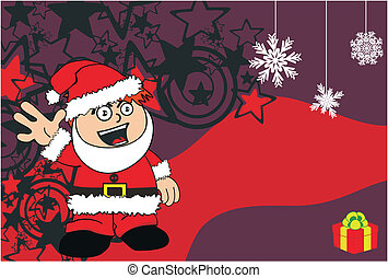 claus xmas kid cartoon background10 - claus xmas kid cartoon...