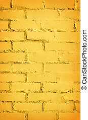 yellow brick wall - old yellow brick wall background