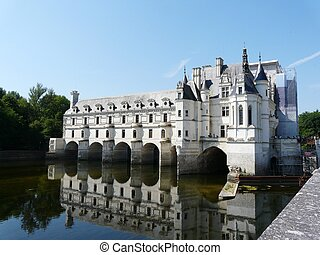 Chateau de Chenonceau, France - Chateau de Chenonceau...
