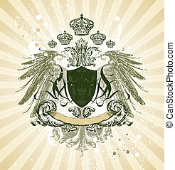 Royal vintage illustration