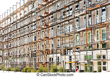 houses in Scaffold, housing area in beautiful landscape near...