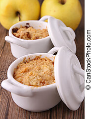 crumble - apple crumble