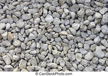 Gravel Rocks Stones Background - Crushed rocks good to serve...