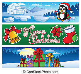 Christmas banners collection 2