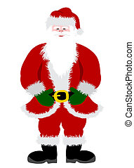 Santa Clause Illustration