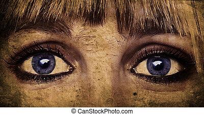 the eye artwork