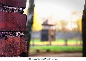 Oswiecim  - The Oswiecim Wall