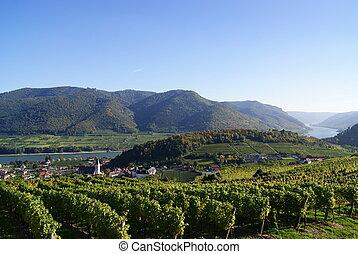 Spitz wachau donau lower austria - landscape spitz wachau...